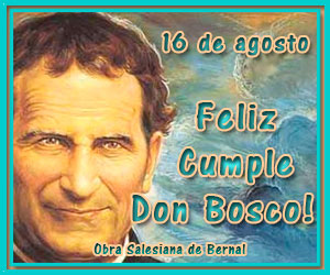 Feliz cumple Don Bosco!!!